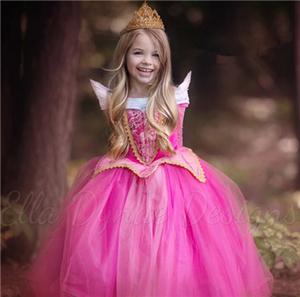 「眠れる森の美女」のオーロラ ディズニープリンセス コスプレ 子供