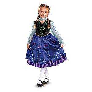 「アナと雪の女王」のアナ ディズニープリンセス コスプレ 子供