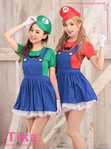 マリオ&ルイージのコスプレ衣装