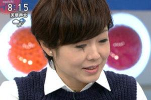 有働由美子の目が違うのは整形か?