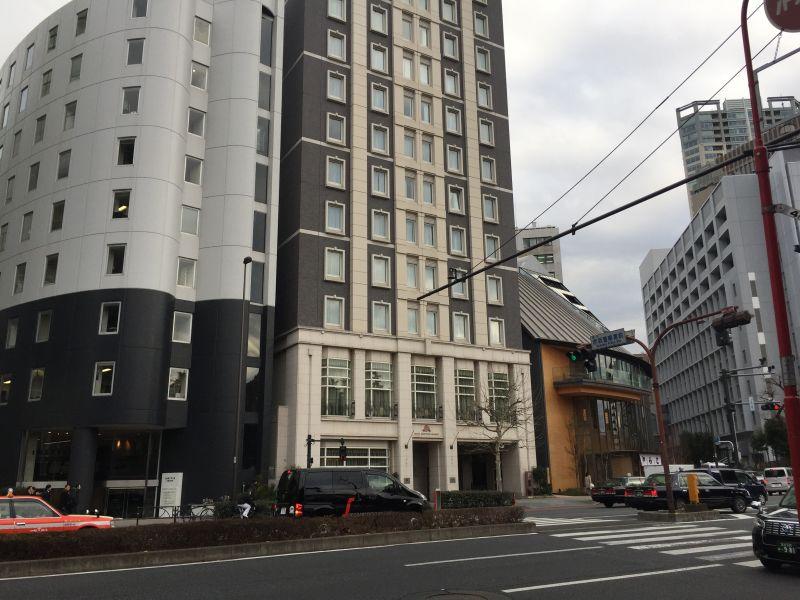 ホテルモントレ赤坂に泊まった時の内装や感想