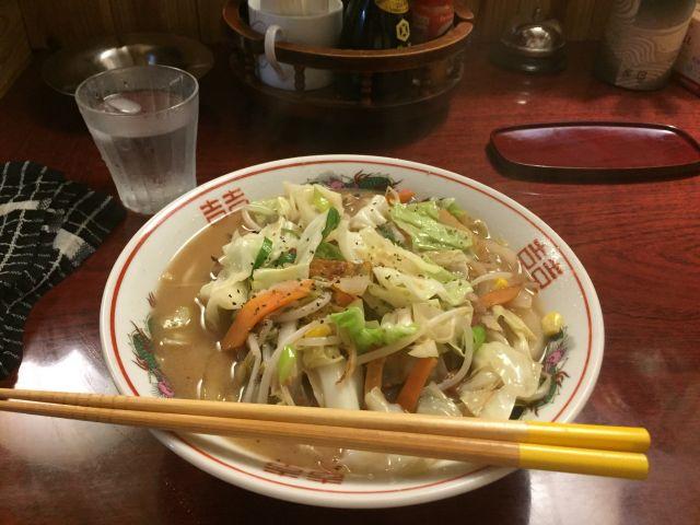 お食事処 松ちゃんの天草チャンポンが美味い!